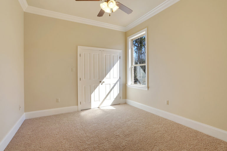 single family home spare bedroom